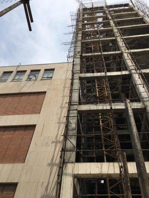 ساختمان دانشکده مهندسی شیمی متراژ 13000 متر مربع